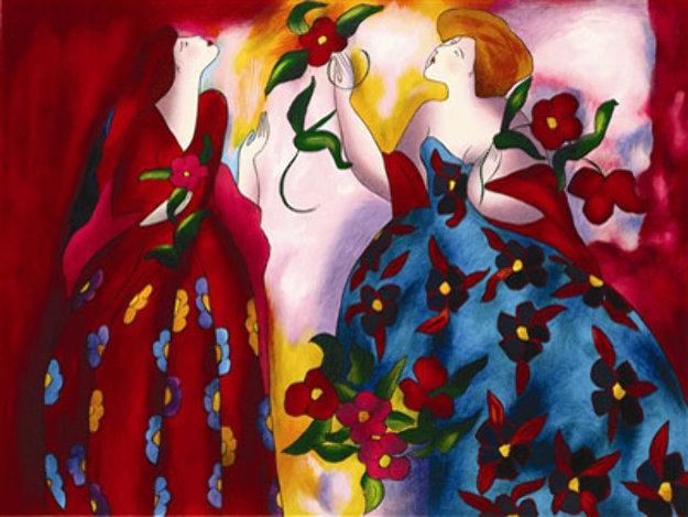 Parc Monceau 2005 Limited Edition Print by Linda LeKinff