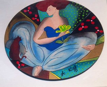Douceurs D'Orient 2006 Embellished Limited Edition Print by Linda LeKinff