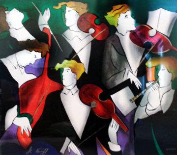 Untitled Serigraph 1995 Limited Edition Print - Linda LeKinff