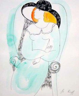 Reserved Watercolor Watercolor - Linda LeKinff