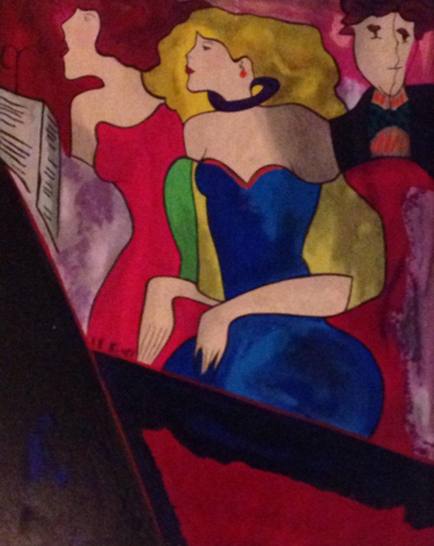 Chorale 1997 Embellished Limited Edition Print by Linda LeKinff