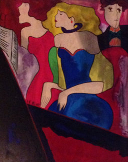 Chorale 1997 Embellished Limited Edition Print - Linda LeKinff