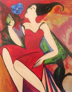 Jane 1993 Limited Edition Print by Linda LeKinff