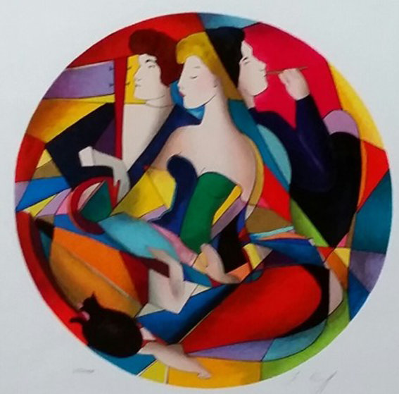 Vertigo 2006 Limited Edition Print by Linda LeKinff
