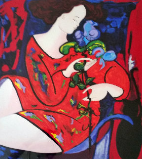 l'Orchidee  Limited Edition Print by Linda LeKinff