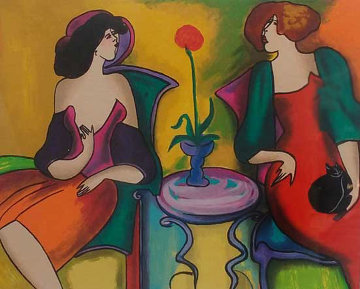 Double 1980 Limited Edition Print by Linda LeKinff