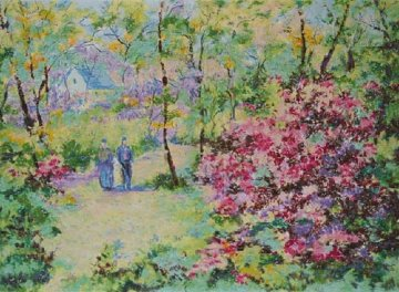 Spring 1963 Limited Edition Print by Lelia Pissarro