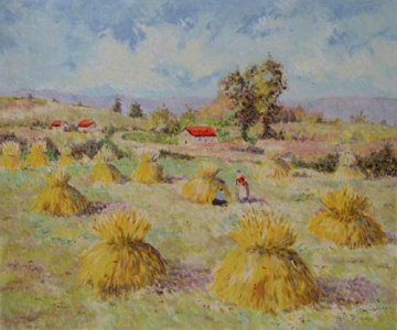 Summer 1963 Limited Edition Print by Lelia Pissarro