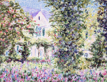 Monet's House 2002 Limited Edition Print - Lelia Pissarro