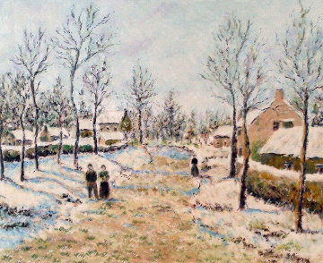 Four Seasons: Winter 2000 Limited Edition Print - Lelia Pissarro