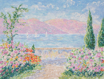 South of France Limited Edition Print - Lelia Pissarro
