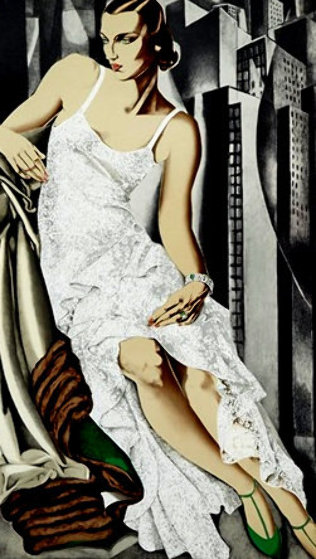 Lady in Lace 1972 by Tamara de Lempicka