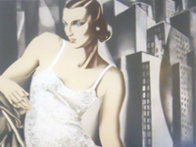 Lady in Lace 1972 Limited Edition Print by Tamara de Lempicka - 3