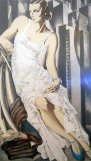 Lady in Lace 1983 Limited Edition Print - Tamara de Lempicka