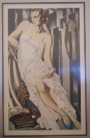 Lady in Lace 1972 Limited Edition Print by Tamara de Lempicka - 1