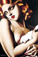 Femme a la Colombe 1996 Limited Edition Print by Tamara de Lempicka - 0