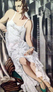 Lady in Lace 1983 Limited Edition Print by Tamara de Lempicka
