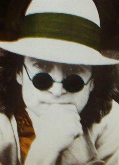 Nishi Photographic Portrait of John Lennon (Orange) 1977 - 1st Limited Edition Print - John Lennon