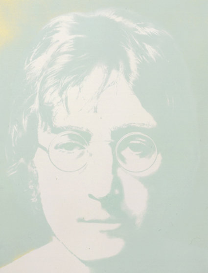 Photographic Portrait Green  1979 Limited Edition Print by John Lennon