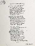 Instant Karma Lyrics 2002 Limited Edition Print - John Lennon