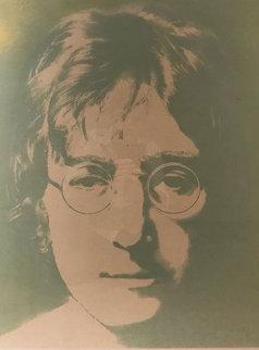 Silk Screened Portrait of John Winston Lennon 1990 Limited Edition Print by John Lennon