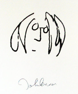 Lyrics: Solo Years -  Set of 12 Lyrics Limited Edition Print by John Lennon