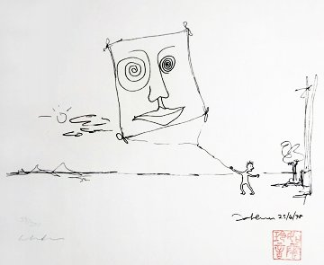 Free As a Bird 1995 Limited Edition Print by John Lennon