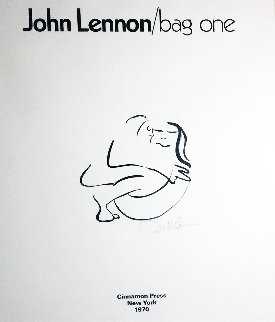 Bag One 1970 HS Limited Edition Print - John Lennon