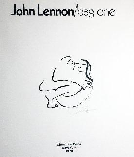 Bag One 1970 HS Limited Edition Print - John Lennon