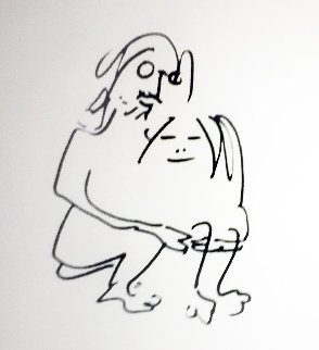 Hug 1987 Limited Edition Print by John Lennon