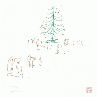 Happy Christmas Lyrics    2014 Limited Edition Print by John Lennon