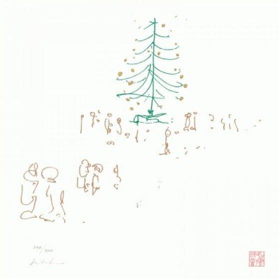 Happy Christmas Lyrics    2014 Limited Edition Print by John Lennon