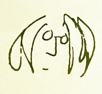Self Portrait Limited Edition Print - John Lennon