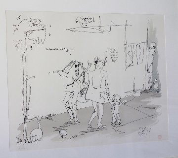 Jazz Man 1990 Limited Edition Print by John Lennon