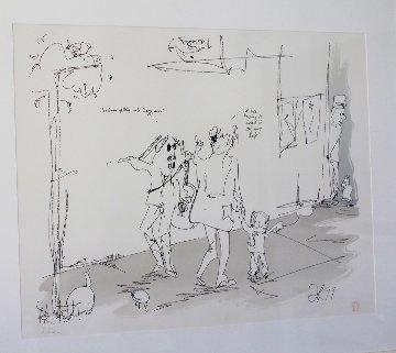 Jazz Man 1990  Limited Edition Print - John Lennon