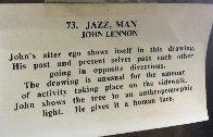 Jazz Man 1990  Limited Edition Print by John Lennon - 3