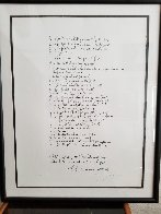 A to Z Poets Page HS Limited Edition Print by John Lennon - 1