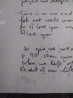 Lyrics: Little Flower Princess Lyrics Limited Edition Print by John Lennon - 2