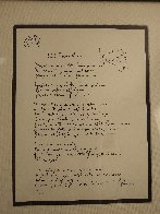 Lyrics: Little Flower Princess Lyrics Limited Edition Print by John Lennon - 7