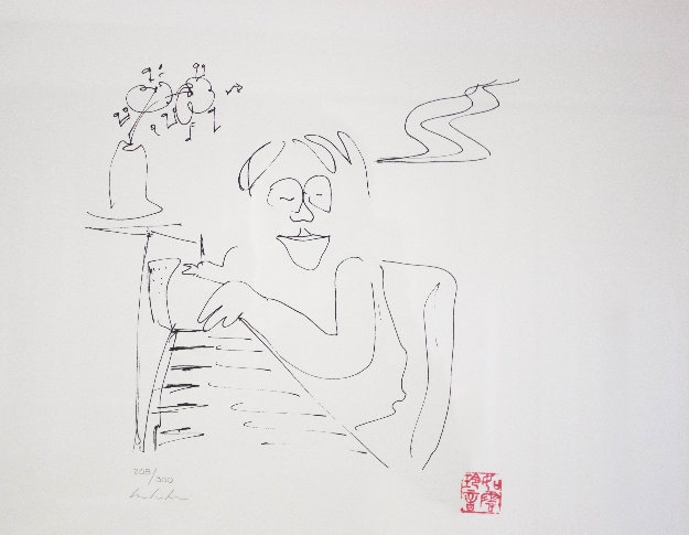 Baby Grand Limited Edition Print by John Lennon