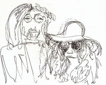Ballad of John And Yoko PP 1988 Limited Edition Print - John Lennon