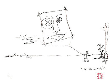 Free As a Bird PP 1995 Limited Edition Print by John Lennon