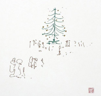 Happy Christmas PP 2014 Limited Edition Print - John Lennon