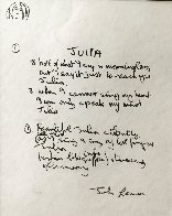 John Lennon the Beatles Years, Set of 12 Lyrics 1995 Limited Edition Print by John Lennon - 4