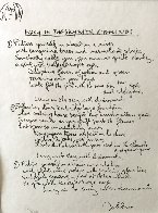John Lennon the Beatles Years, Set of 12 Lyrics 1995 Limited Edition Print by John Lennon - 5