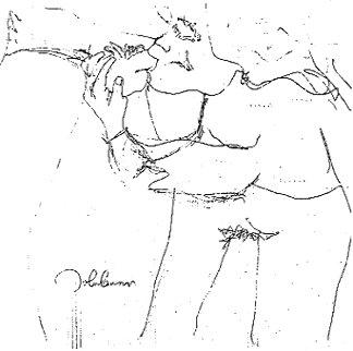 Erotica #8 - Fellatio 1969 HS by John Limited Edition Print - John Lennon