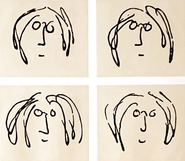 Mind Games 1968 Limited Edition Print - John Lennon