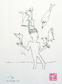 Magic Birds AP 1996 Limited Edition Print - John Lennon