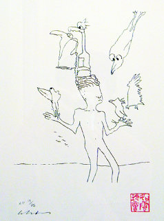 Magic Birds AP 1996 Limited Edition Print by John Lennon