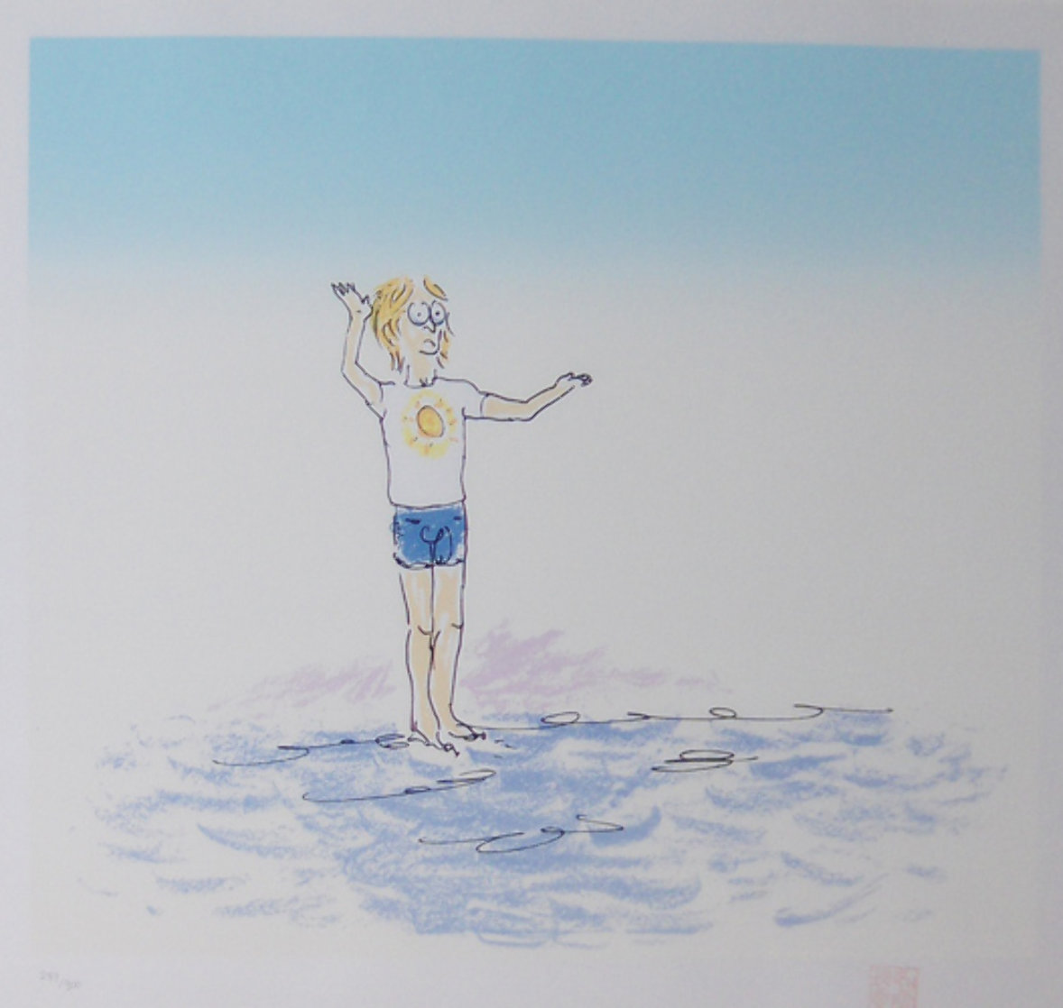 Nothing is Impossible Limited Edition Print by John Lennon